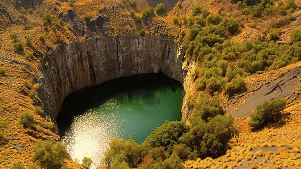 This is of a stock image of a mines pollution dam