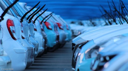 Image of cars in a row