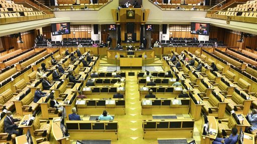Pic/Image of SA Parliament.