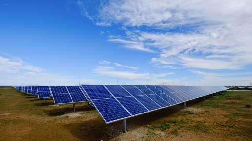 An image of Boikanyo Solar's project in the Northern Cape