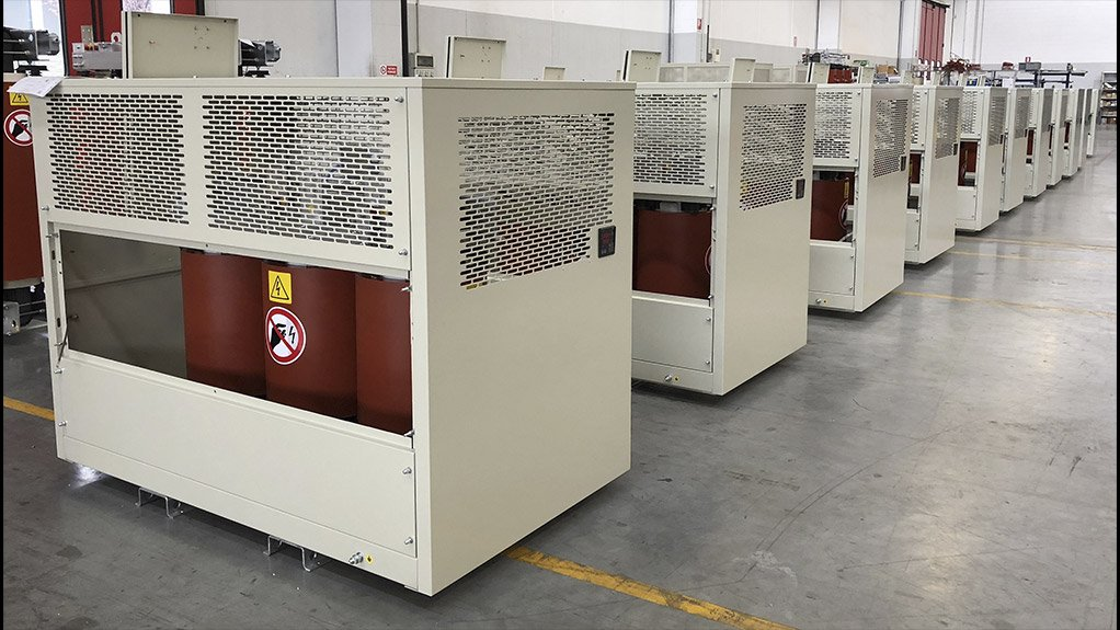 With an application in the food and beverage sector, dry-type transformers are considered ideal