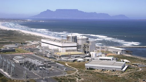 an image of Eskom's Koeberg nuclear power plant