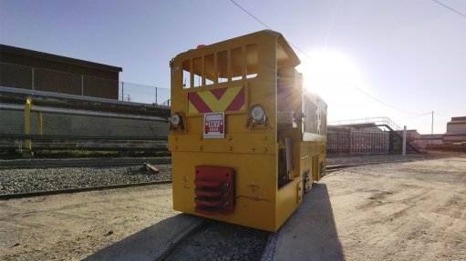 Enviro-friendly Battery Electric loco on track for underground testing at Sibanye-Stillwater