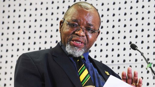 An image of Mineral Resources and Energy Minister Gwede Mantashe