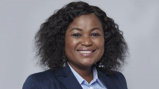 An image of SAWEA CEO Ntombifuthi Ntuli