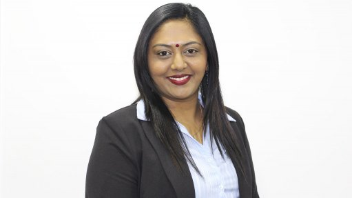Alt description:  An image of Predahni Naidoo, the brand manager Sisi Safety Wear
