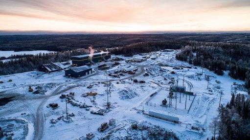 Aerial view of Harte Gold Corp's Sugar Zone mine, in Canada
