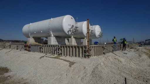 An image of gas extraction at Renergen's Virginia Gas project