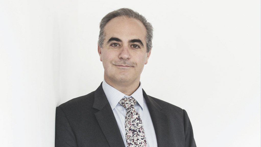 An image of Renergen's CEO and MD Stefano Marani