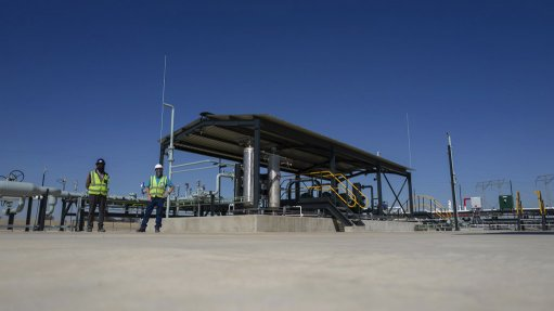 An image of extraction at Renergen's Virginia Gas Project