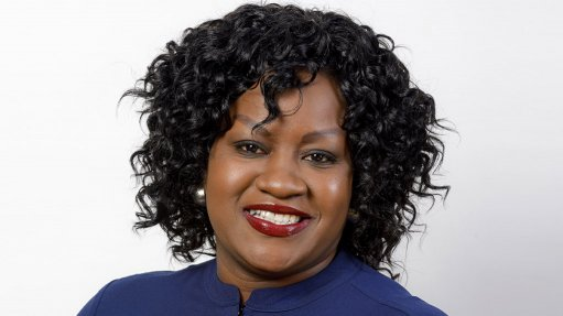 An image of Lettie Mashau CEO of Motheo Construction