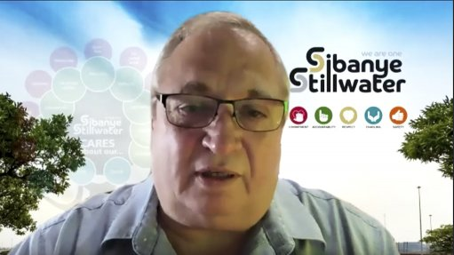 An image of Neal Froneman, the CEO of Sibanye-Stillwater