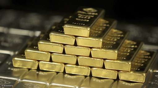 Gold bars stacked on top of each other