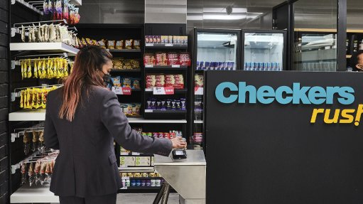 Image of the Checkers Rush concept store