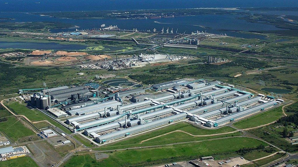 Hillside Aluminium, in Richards Bay
