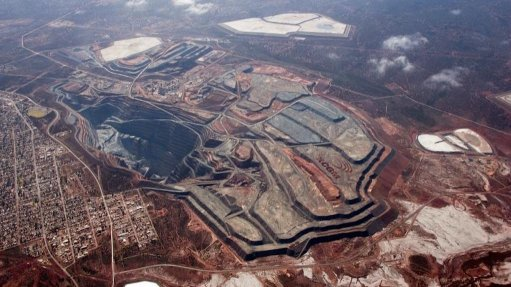 Aerial image of the Kalgoorlie Consolidated Gold Mines (KCGM) Operations, in Australia