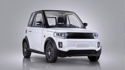 Image of the CityBug electric vehicle