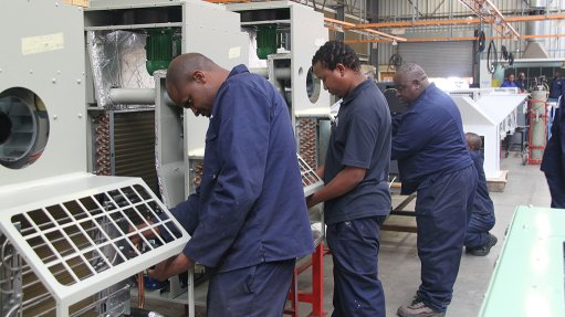 COOL SPOT Booyco Engineering operates a world class HVAC assembly facility in Johannesburg