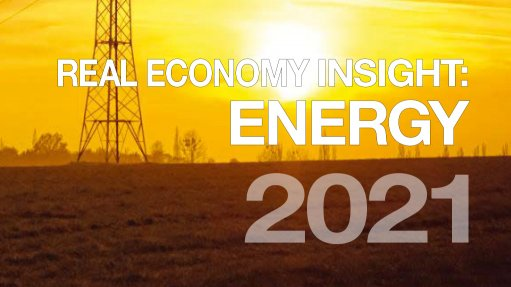 Real Economy Insight 2021 cover image for Energy