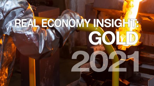 Real Economy Insight 2021 cover image for Gold