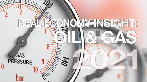 Real Economy Insight 2021 cover for Oil & Gas