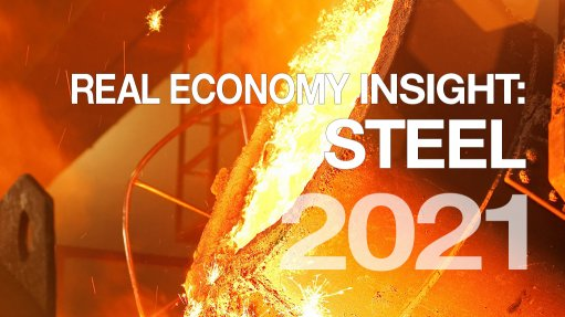 Real Economy Insight 2021 cover image for Steel