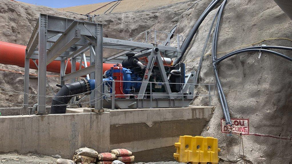 An image of Centex's Gozilla pump set
