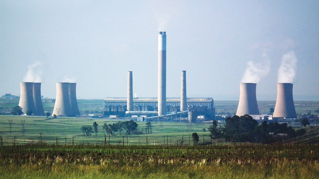 The Komati coal-fired power station, which will be fully decommissioned in 2022