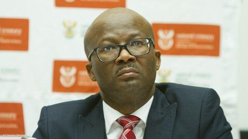 National Treasury director-general Dondo Mogajane