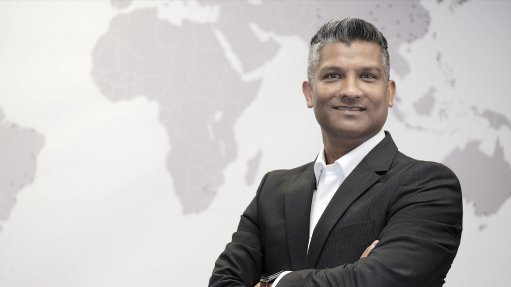 An image of Sagren Govender the sales manager and Europe, Middle East and Africa water industry coordinator for Rockwell Automation