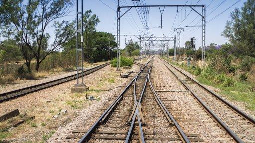 An image of a Transnet rail line