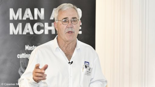 An image of Master Drilling CEO Danie Pretorius