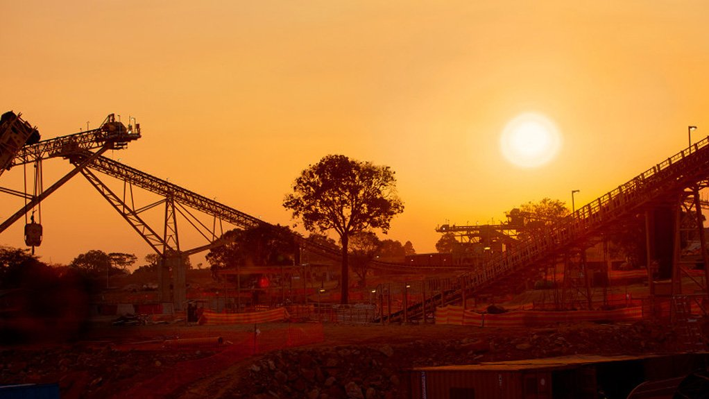 An image of the Lubambe mine in Zambia