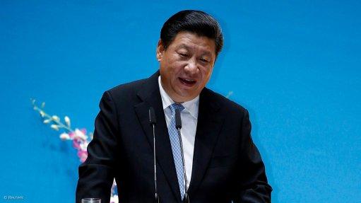 An image of China President Xi Jinping