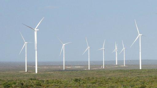 Pic/Image of Eskom's Sere wind farm.