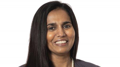 Picture of Implats CFO  Meroonisha Kerber