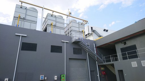 A roof top refrigeration system installed by EP Refrigeration at a produce packing house