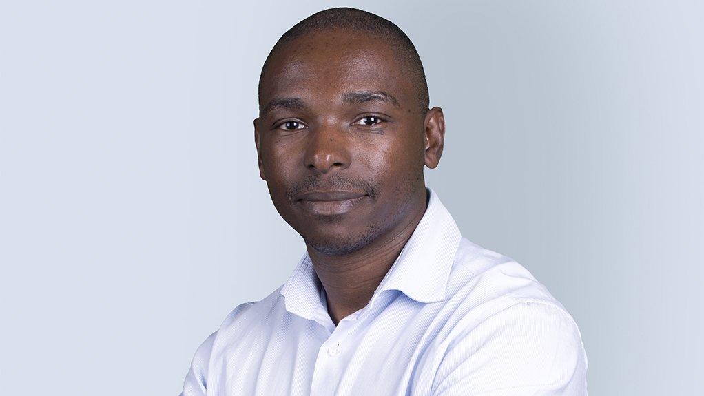 An image of WSP regional director Martin Mkhabela