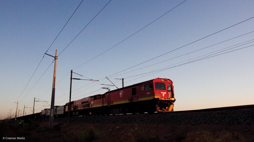 A photo of a TFR locomotive