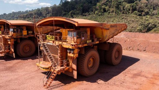An image of a haul truck.