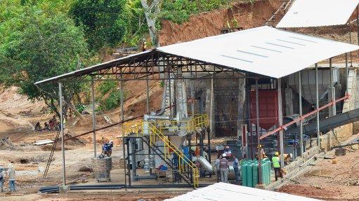 Graphite processing plant at Tirupati's Sahamamy projec