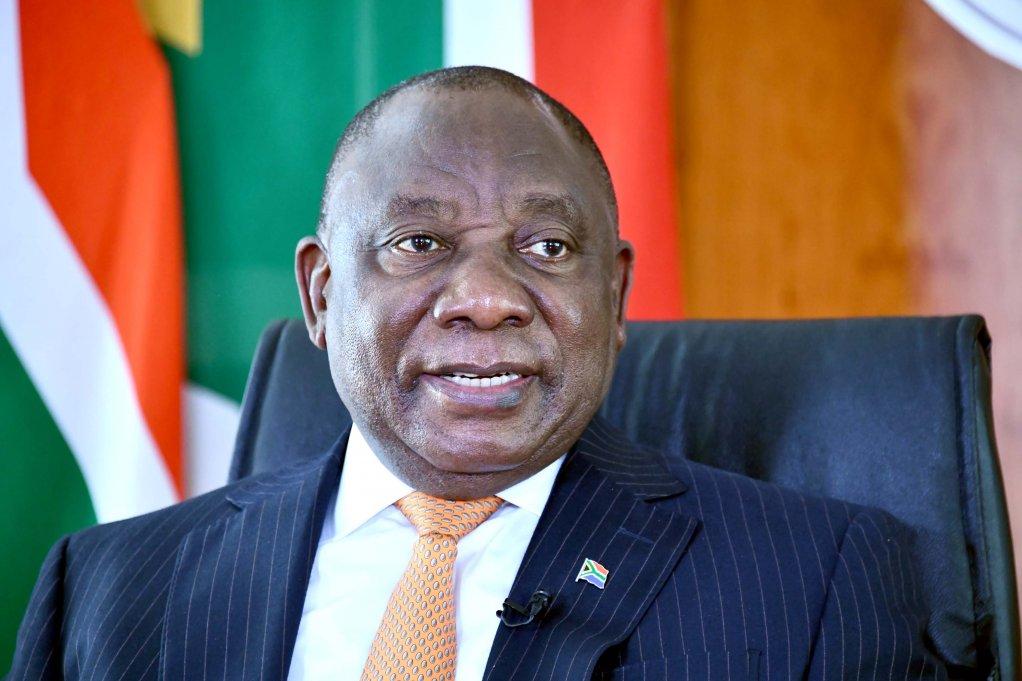 Photo of President Cyril Ramaphosa