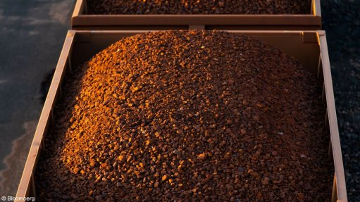 An image of a wagon carrying iron-ore.