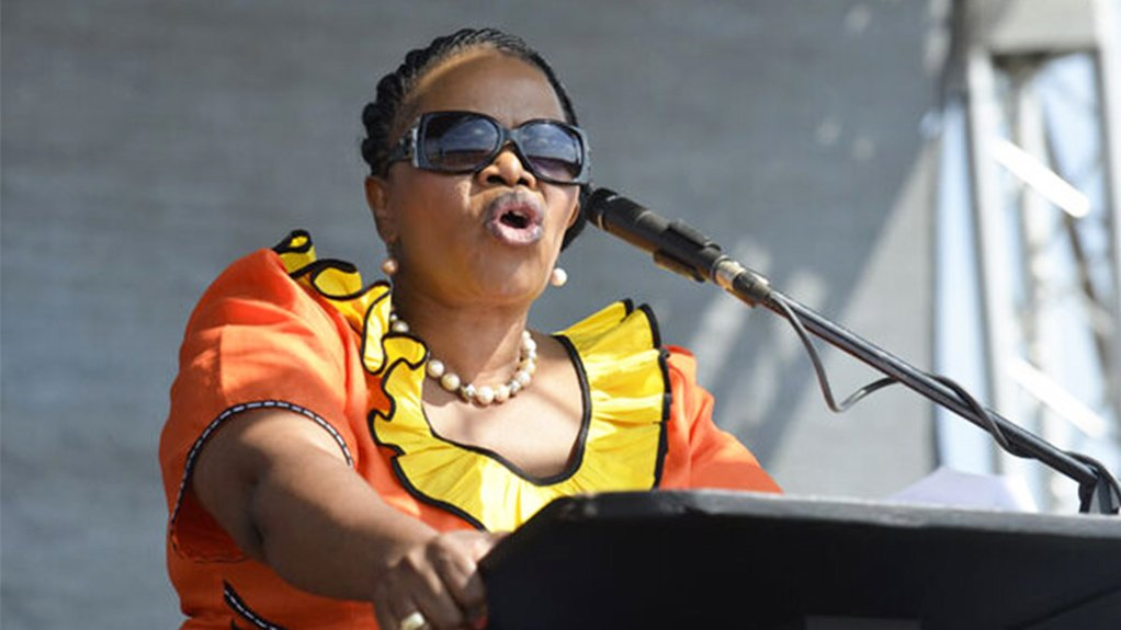 Image of NFP leader Zanele kaMagwaza-Msibi
