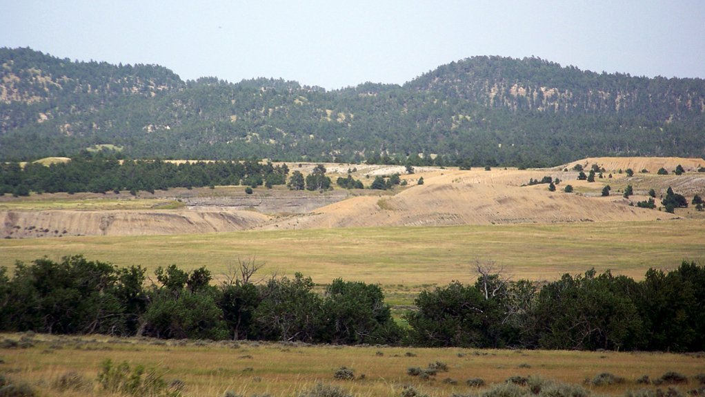 An image showing a project site area in South Dakota, US.