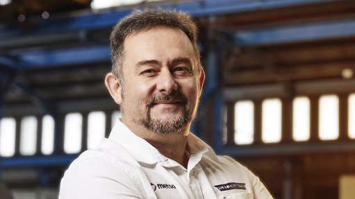 A photo of Pilot Crushtec Africa sales manager Fernando Abelho