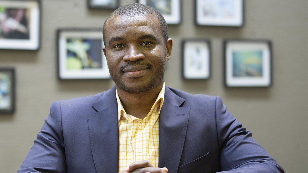 A photo of NCPC-SA national programme manager Victor Manavhela