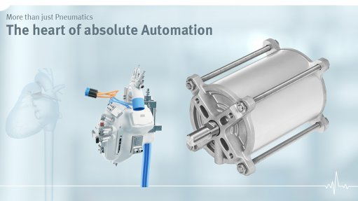 Image of the linear actuator DFPC from Festo