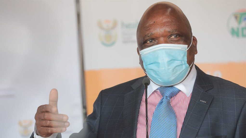 Image of South African Health Minister Dr Joe Phaahla