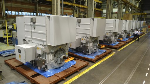 Pic of one of WEG's state-of-the-art facilities that manufactures large motors
